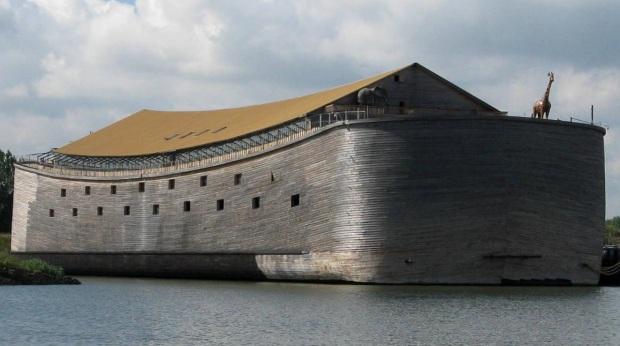 Full-scale replica of Noah's Ark (Ark van Noach) in the Netherlands