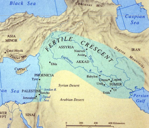 Not labelled here, the Ulai is the tributary joining the confluence of Tigris and Euphrates, before all rivers, as one, empty into the Persian Gulf.