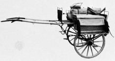 Jaunting car (tumbrel, wagon) [Image: Encyclopaedia Britannica]