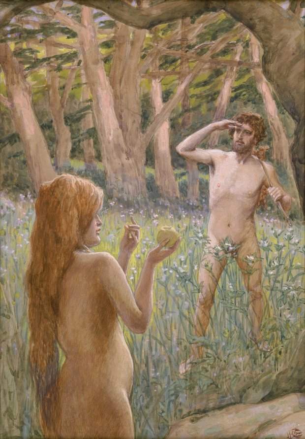 x1952-69, Adam is Tempted by Eve, Artist: Tissot, Photographer: John Parnell, Photo © The Jewish Museum, New York