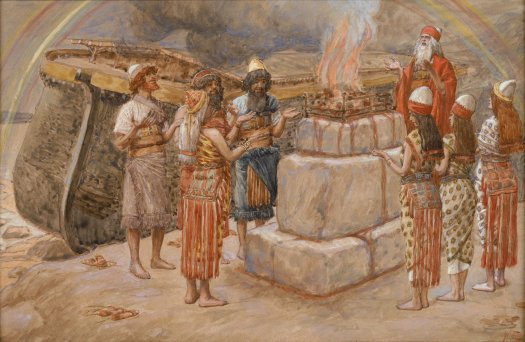 x1952-82, Noah's Sacrifice, Artist: Tissot, Photographer: John Parnell, Photo © The Jewish Museum, New York
