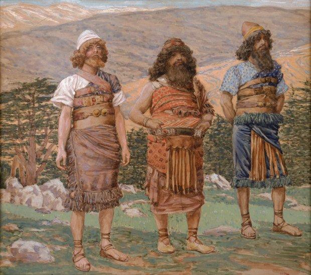 x1952-83, Shem, Ham and Japeth, Artist: Tissot, Photographer: John Parnell, Photo © The Jewish Museum, New York