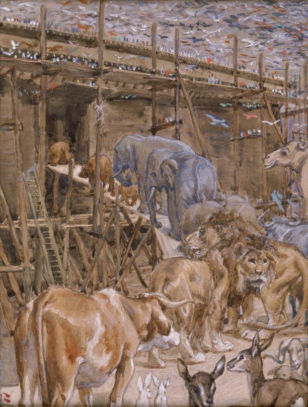 x1952-79, The Animals Enter the Ark, Artist: Tissot, Photographer: John Parnell, Photo © The Jewish Museum, New York
