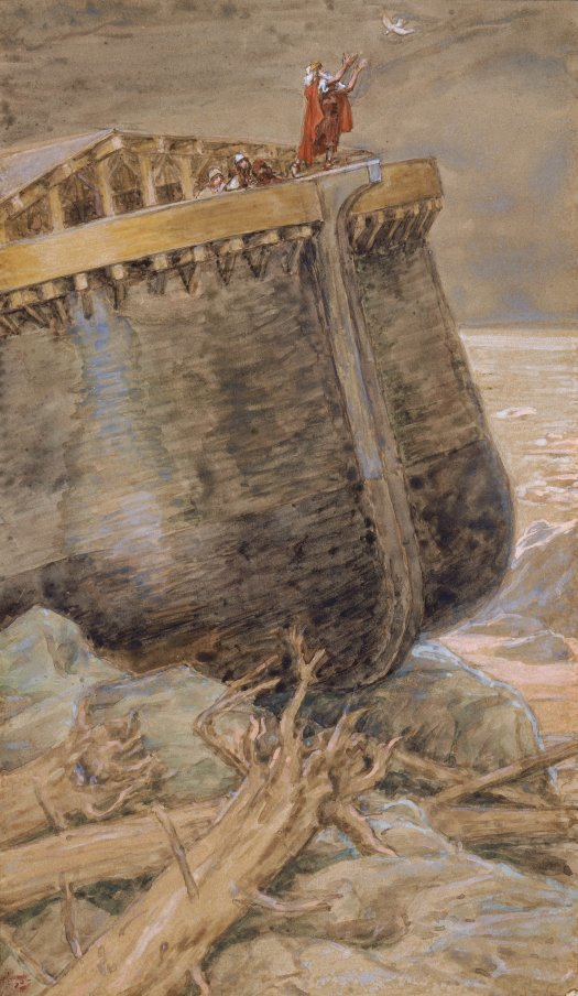 x1952-81, The Dove Returns to Noah, Artist: Tissot, Photographer: John Parnell, Photo © The Jewish Museum, New York