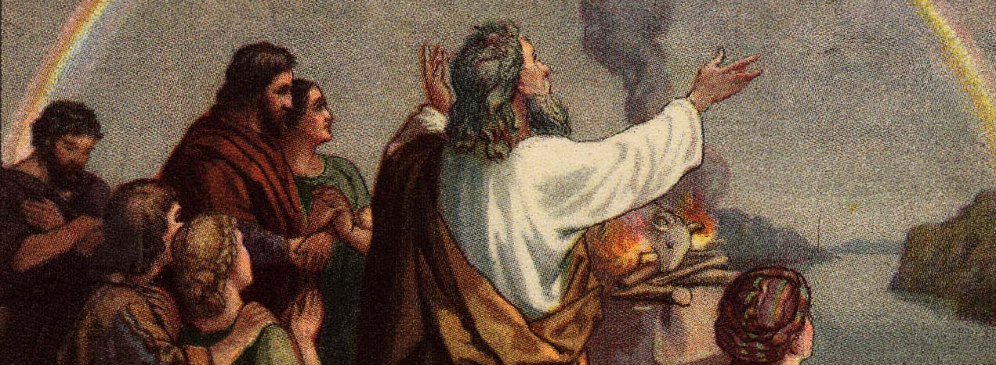 Noah begat 3 sons ...